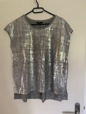 Mexx Długa koszulka srebrny