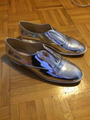 Silber metallic Schuhe