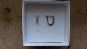 echt Silber 925 Orecchino d'argento argento