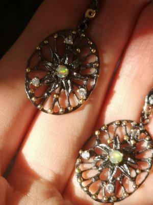 Silber Ohrringen, Opal