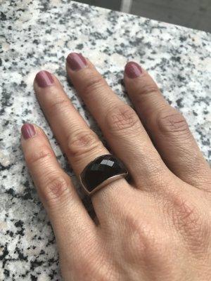 Silber Onyx Ringe Gr. 51