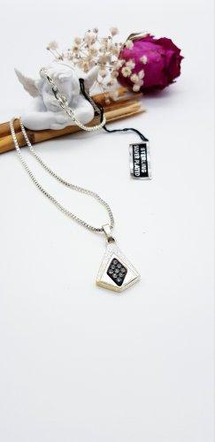 Link Chain black-silver-colored
