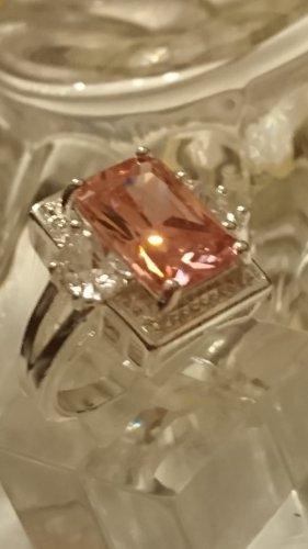 Schmuck Zilveren ring zilver-roze