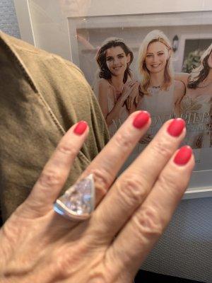 Silber Ring, 925er Sterlingsilber
