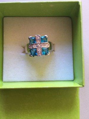 Silber-Ring mit Zirkonia