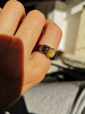 Silber Ring, Opal