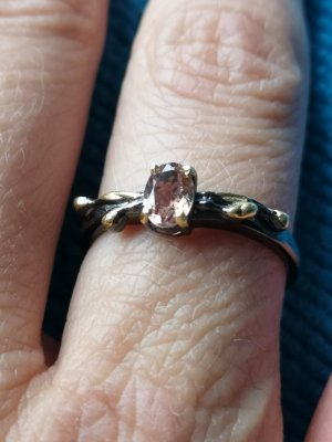Silber Ring, Turmalin