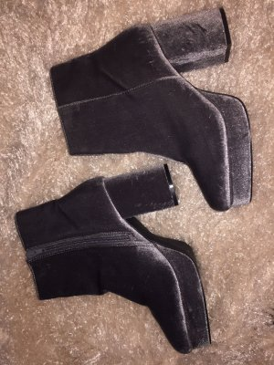 Chelsea Boots silver-colored