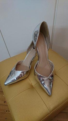 Silber Schuh