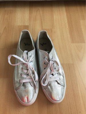 Silber sneaker