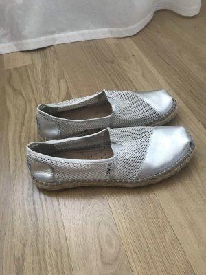Silber Toms Schuhe