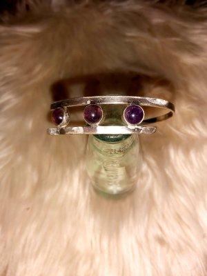Juwelier Silver Bracelet silver-colored-lilac