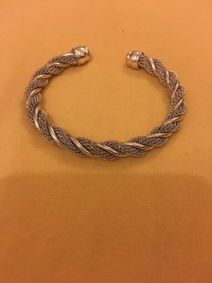 Mouwband zilver Metaal