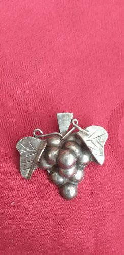 MEXICO 925er Brooch silver-colored