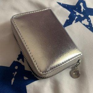 Silberfarbe Portemonnaie