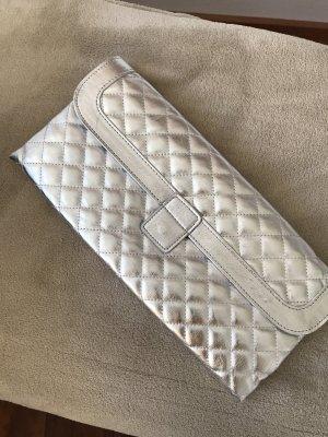 Avon Clutch silver-colored-light grey