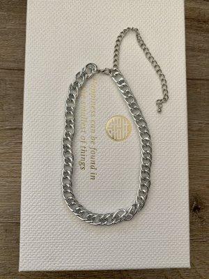 Vintage Łańcuch srebrny