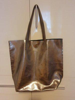 Shopper silver-colored-light grey