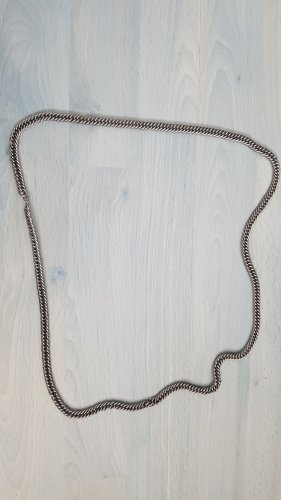 Cadena de eslabón color plata