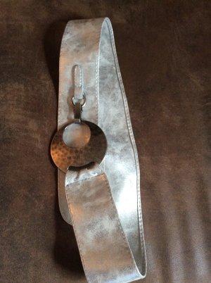 Cinturón de cadera gris claro-color plata