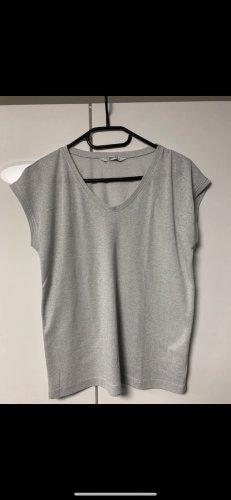 Silberfarbiges T-Shirt Gr. S