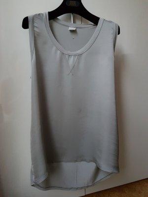 Deha Long Top silver-colored-light grey
