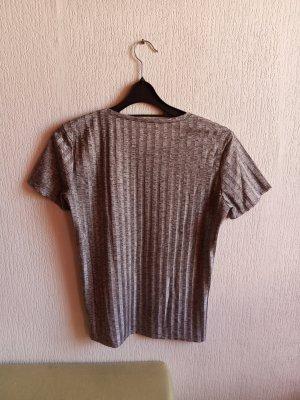 Silbergraues Shirt