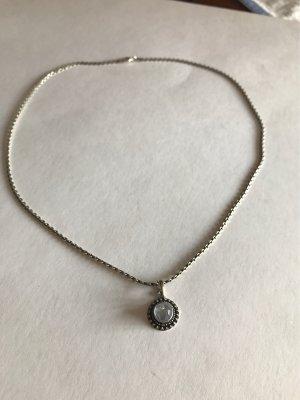 925er Silber Chaîne en argent argenté-blanc
