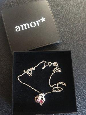Silberkette Amor