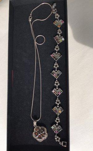Silberkette&Armband Set (975)