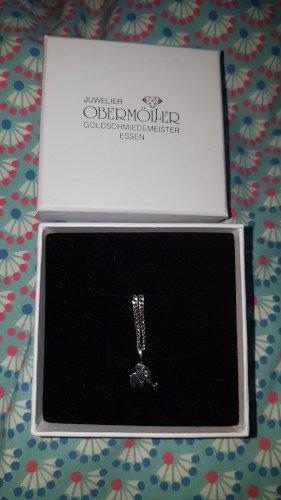 Juwelier Cadena de plata color plata