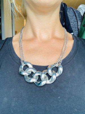 Silberkette mit großen Gliedern