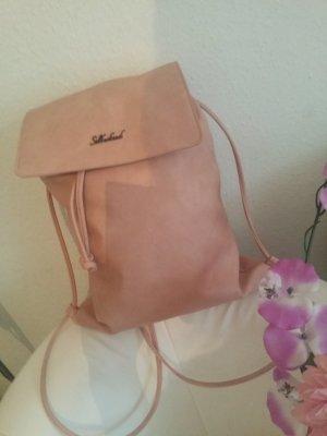 Mochila escolar rosa