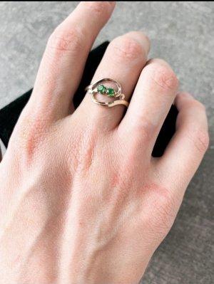 Goldschmiede Srebrny pierścionek Wielokolorowy