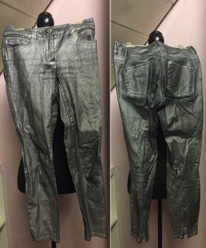 Silberne 3/4 Jeans von H&M