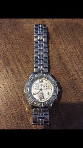 Silberne Armbanduhr von Jette Joop