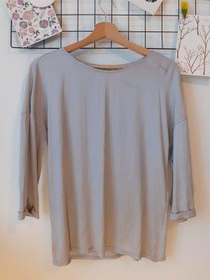 Silberne Bluse von Comma