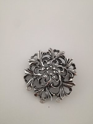 Vintage Broche color plata