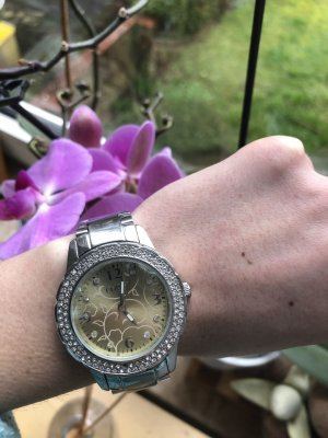 Christ Watch With Metal Strap silver-colored