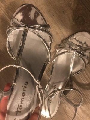 Tamaris Sandalo Dianette argento-grigio chiaro