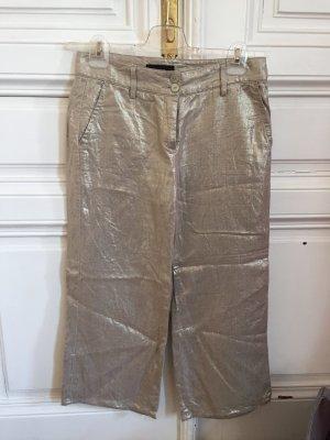 Cambio Pantalone culotte argento-oro