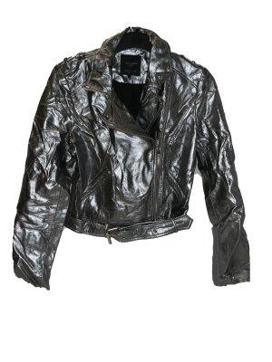 Silberne Jacke