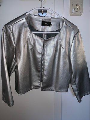 Silberne Jacke von Only
