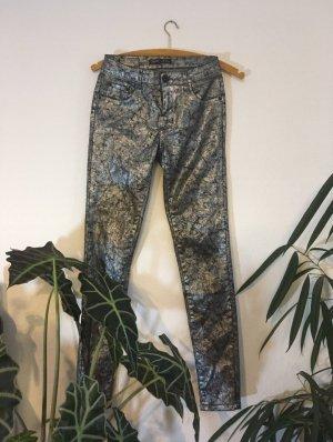 Toxik3 Slim Jeans black-silver-colored