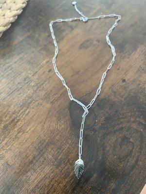 kisu Srebrny łańcuch srebrny