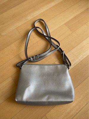 Silberne kleine Crossbody Tasche