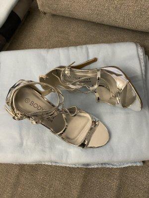 Bodyflirt Sandalen met bandjes zilver