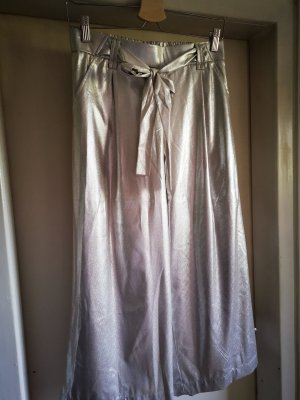 Silberne Metallic Culotte (Zara) M