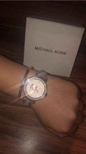 Silberne MK Uhr