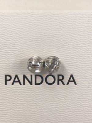 Silberne Pandora Clips